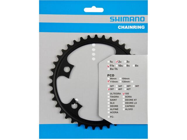 Shimano 105 FC-5800 Chain Ring MD 110mm, black
